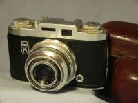 '    KING  ' King Regula  Cased Vintage Camera £19.99